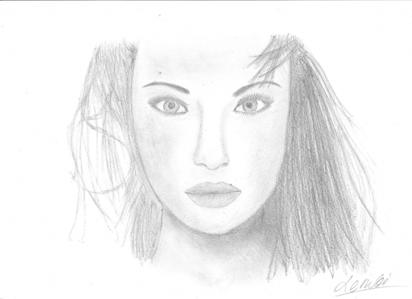 Angelina Jolie by -lembi-